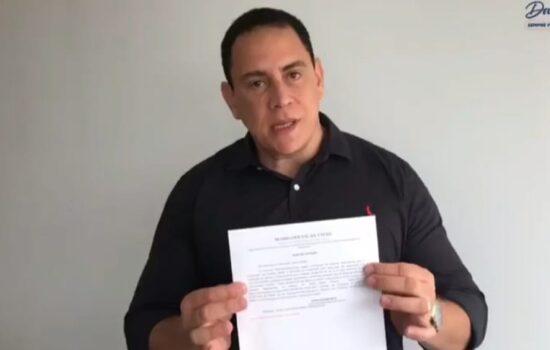 Vídeo: Deputado Federal Da Vitória anuncia publicação de edital para contratação do projeto de duplicação da BR-259 no ES