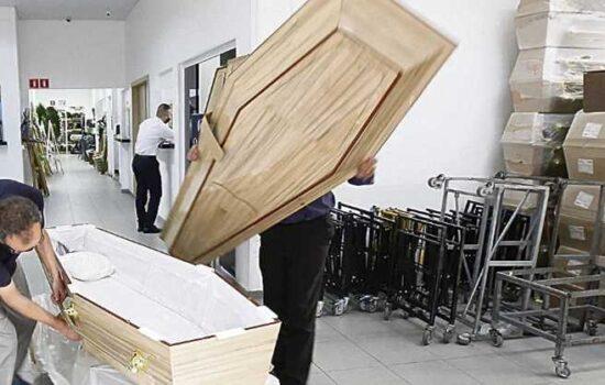 Com cenário mais controlado, caem vendas de caixões e de sepultamentos em Colatina